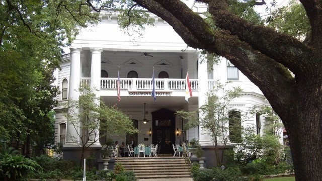 The Columns Hotel new orleans haunted