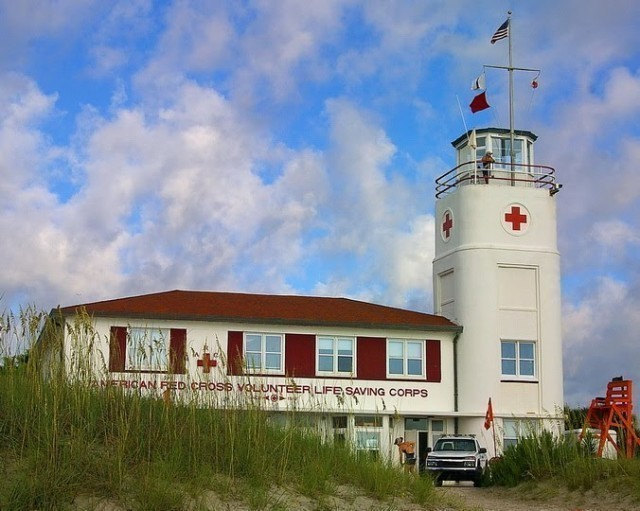 Jacksonville Beach Lifeguard Station