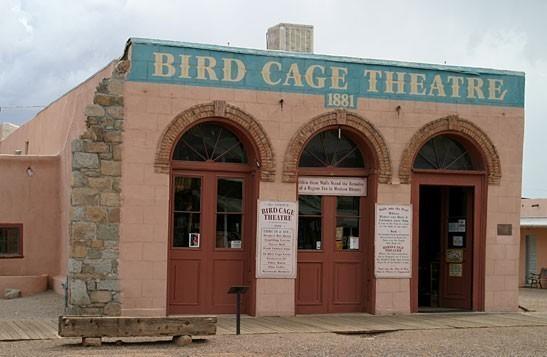 Bird Cage Theater.