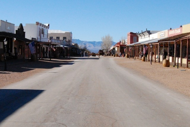 Tombstone town.