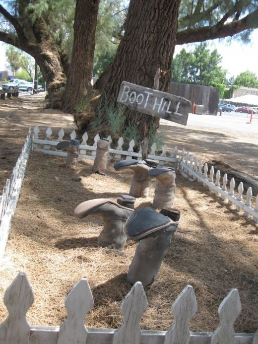 Tombstone has lots of residence ghosts located all over this little town, so what a better place to start than with the town's very own cemetery!