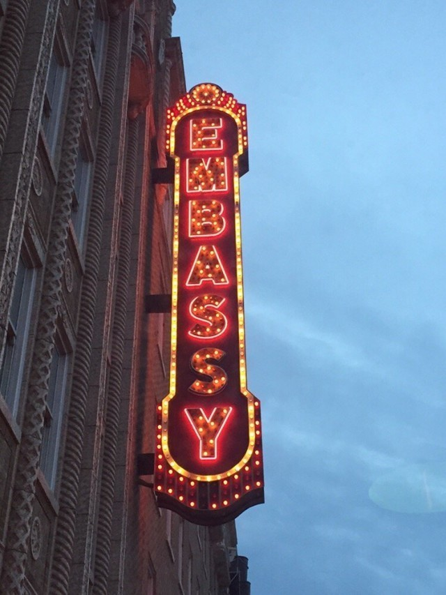 Embassy Theater, Fort Wayne.