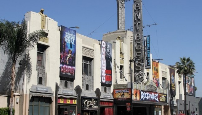 Haunted Hollywood Theaters.