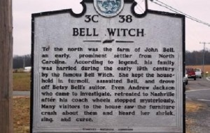The Bell Witch Haunting, Adams - Tennessee.
